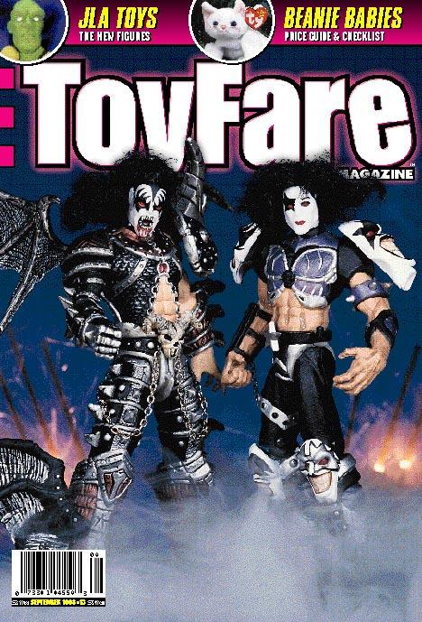 World Magazine Covers Cover of Toyfare Magazine