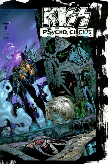 Kiss Asylum Psycho Circus Comics